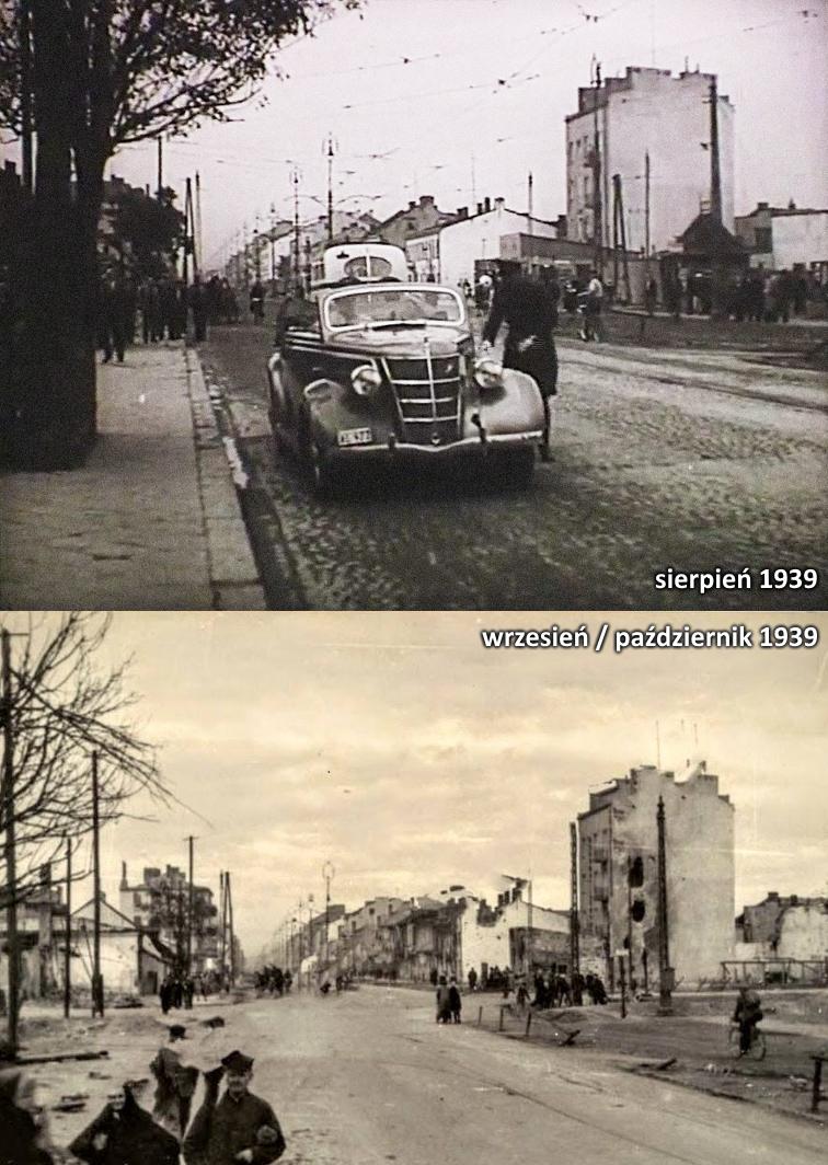 Grójecka i Opaczewska w 1939 roku