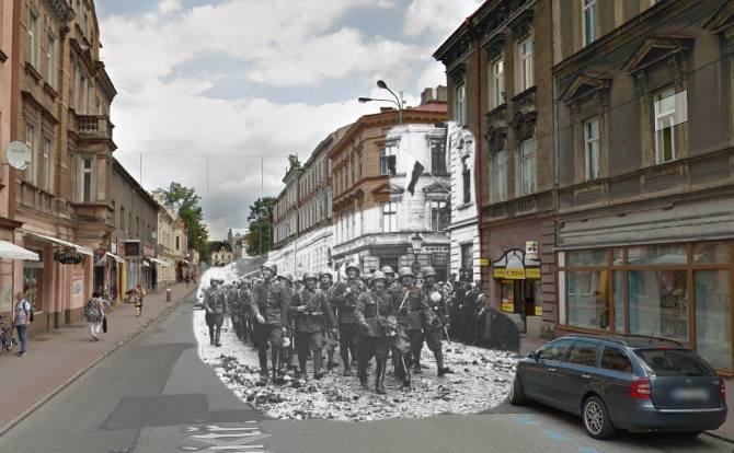 Czeski Cieszyn, ulica Główna
