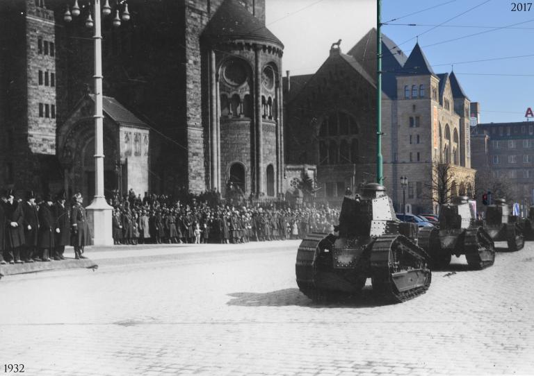 Defilada wojskowa w Poznaniu