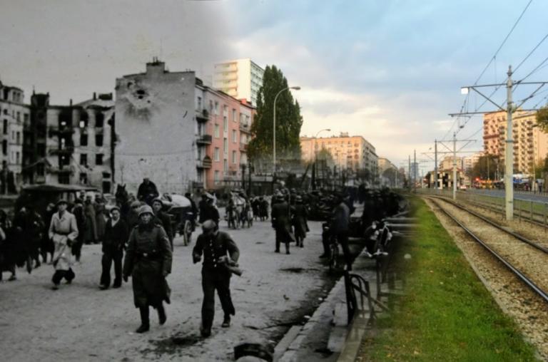 Barykada przy Opaczewskiej
